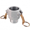 Camlock Female Coupler with Male Thread
