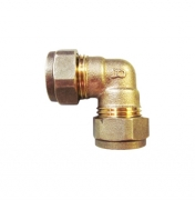 Equal Elbow Brass Compression Fittings