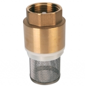 Brass Foot Valve and Strainer