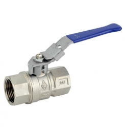 Brass Lockable Lever Ball Valve