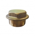 Brass Flanged Plug Pipe Fitting