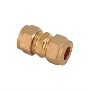 Straight Equal Coupler Brass Compression Fittings
