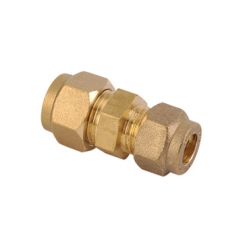 Straight Reducing Coupler Brass Compression Fittings
