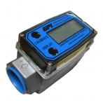 Enlarge GPI Turbine Digital Chemical Flow Meter