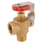 Locking Angle Brass Gate Valve