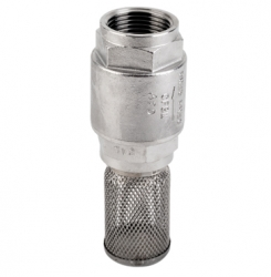 Stainless Steel Foot Valve and Strainer