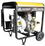 Site Buddy Engine Driven Trash Pump