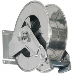 Stainless Steel High Capacity Fuel Hose Reel
