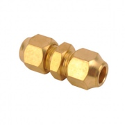 Brass Flare Straight Oil Line Fittings