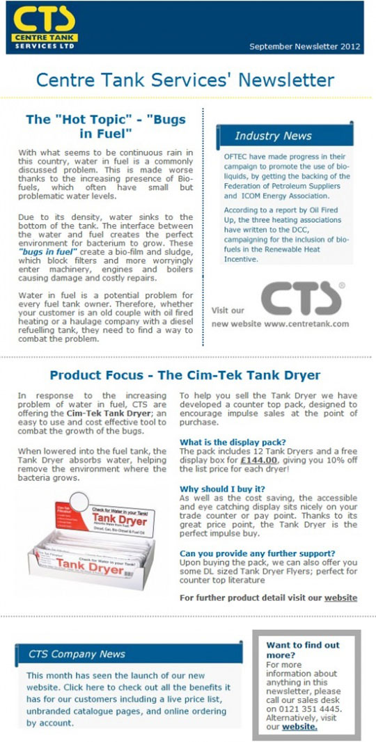 CTS Newsletter