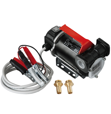 Piusi BP3000 Portable 12v Diesel Transfer Pump - Horizontal Ports