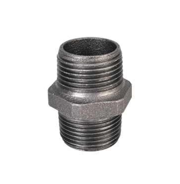 Equal Nipple Malleable Iron Pipe Fittings