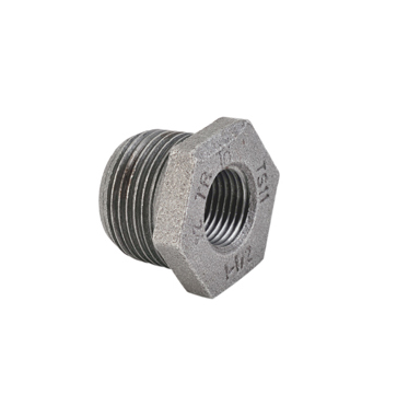 Reducing Bush Malleable Iron Pipe Fittings