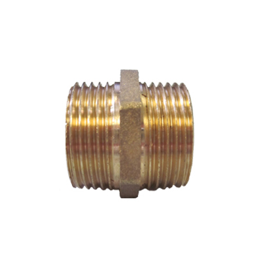Hexagon Nipple Brass Pipe Fittings