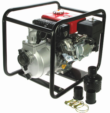 2 Petrol Engine Driven Water Pumps Industrial Water