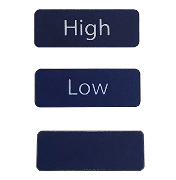 Tank Alarm Level Labels