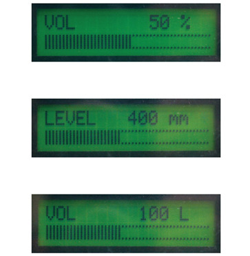 Piusi Ocio Fuel Tank Gauge Display Options