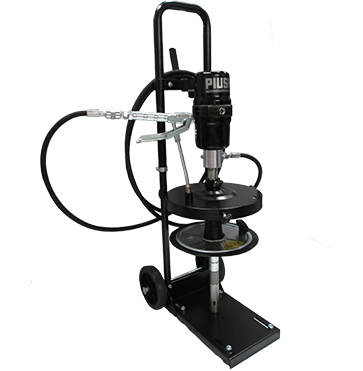 Piusi Mobile Air Operated Grease Drum Pump Kit