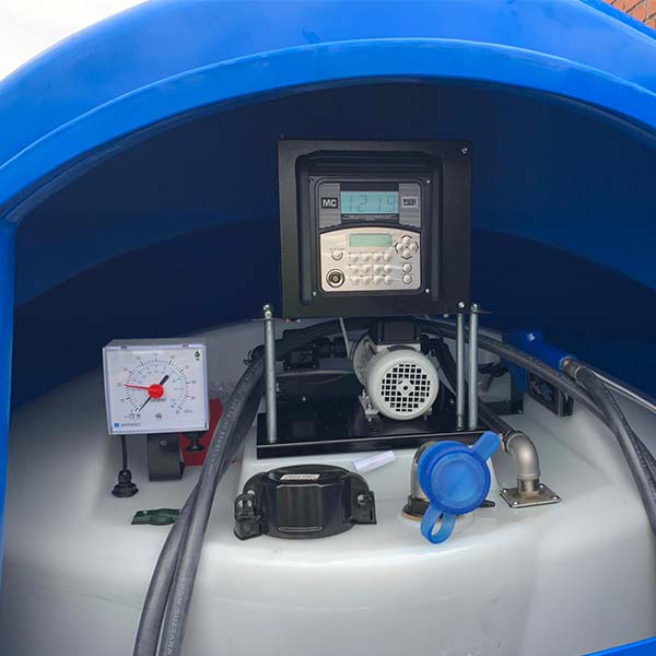 Piusi MC Box Fuel Management System Installed on AdBlue Tank