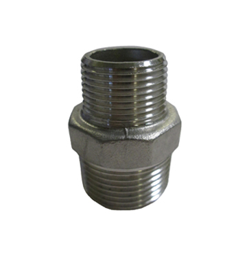 Stainless Steel Hex Reducing Nipple Fitting