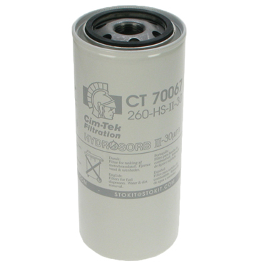 Cim-Tek Particle/Water Fuel Pump Filter