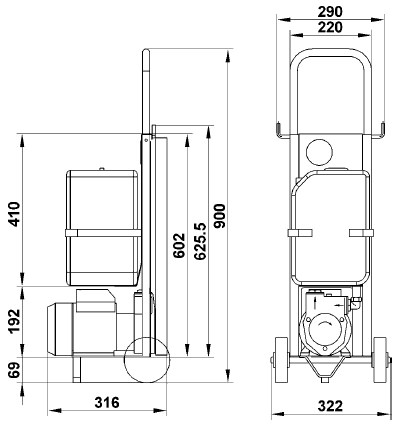 Dimensions for this product